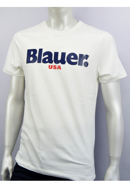 Blauer Usa T-shirt Uomo Bianca Serie Fall/Winter